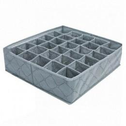 30 siatki bielizna przechowywania skarpet szuflada szafa bambusowy węgiel drzewny organizator Box BJStore