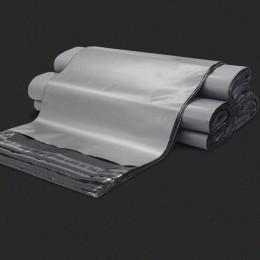 50 sztuk srebrny torby kurierskie wiele matowe samoprzylepne wodoodporna torba do przechowywania torby gruba koperta Mailer pocz