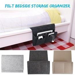 1 sztuk filc nocna Sofa worek do przechowywania zdalna książka telefon komórkowy wiszące organizer do suszenia prania dormitoriu