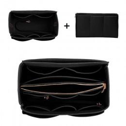 Filc Cloth torebka wkładka torba organizator na przybory do makijażu podróż przenośne torby kosmetyczne worek do przechowywania