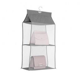 2/3/4 kieszenie wisząca torebka organizator dla szafa szafa odporne na kurz torba do przechowywania torebka duża torebka na rami