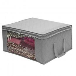 1/3 sztuk włókniny składany przenośny ubrania organizator Tidy pokrowiec walizka domowe pudło do przechowywania pojemnik na kołd
