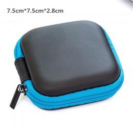 Przewód słuchawkowy organizator Box linia danych kable torby do przechowywania produkty cyfrowe moneta U pojemnik na dysk ochron