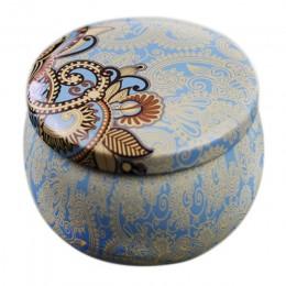 TTLIFE Home Garden osobowość pudełko cukierków pudełko w kształcie bębna pudełko na ciastka świąteczne zaopatrzenie firm herbata