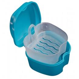 Nowe pudełko do przechowywania wygodne pudełko do kąpieli dentystycznej Dental sztuczne zęby schowek z wiszącym pojemnikiem nett
