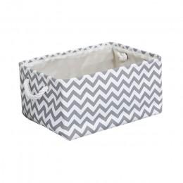 Nowy składany na płótnie pudełko do przechowywania z tkaniny ubrania przechowywanie zabawek kosz na zabawki organizator pranie w