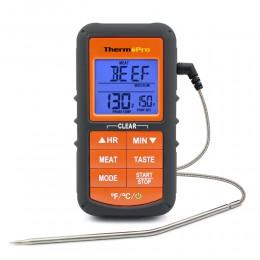 ThermoPro TP06S ulepszona wersja cyfrowa pojedyncza sonda kuchnia gotowanie żywności termometr do mięs z zegarem/alarm temperatu