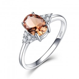 Kuololit Diaspore zultanit kamień pierścień dla kobiet stałe 925 srebro zmienia kolor pierścień na ślub biżuteria zaręczynowa