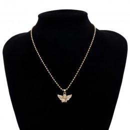 Ingemark nowa moda anioł wisiorek Choker naszyjnik ekologiczny materiał stop koraliki Boho naszyjnik łańcuch Collier kobiety biż