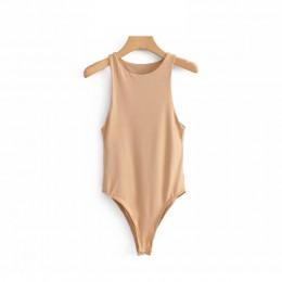 Sexy kobiety bodycon slim elastyczne khaki body 2019 moda eleganckie panie w stylu casual, klubowy party bez rękawów body femme