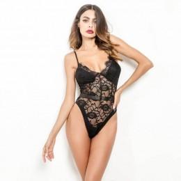 Ellolace Neon koronkowe Body Body dla kobiet Mesh przezroczysty kombinezon Bodycon Backless Sexy kombinezony Body kobieta 10 kol