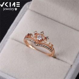 Prezenty na imprezę wybór cyrkonią pierścionek w kształcie korony stop ręcznie robione pierścionki hurtowych pierścionków damski