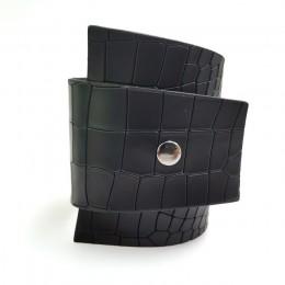 YD & YDBZ Crack skórzane bransoletki kobiety moda biżuteria Vintage bransoletki bransoletka Punk Style miękka skórzana biżuteria