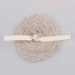 5 m/partia 1.5mm metalowa kula łańcuszki z koralików 7 kolory Ketting Kettingen luzem luzem żelaza łańcuchy dla Diy biżuteria ak