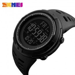 SKMEI moda zegarek sportowy do użytku na zewnątrz mężczyźni zegarki wielofunkcyjne budzik Chrono 5Bar wodoodporny zegarek cyfrow