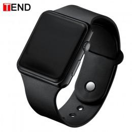 Top marka mężczyźni kobiety led zegarki Unisex cyfrowy zegarek zegar elektroniczny Hodinky mężczyzna kobieta zegarek sportowy ze