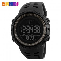 SKMEI 2019 moda zegarek sportowy do użytku na zewnątrz mężczyźni zegar zegarki wielofunkcyjne alarm chronometr 5Bar wodoodporny