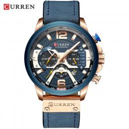 CURREN zegarki mężczyźni marka mężczyźni zegarki sportowe męski zegar kwarcowy człowiek dorywczo wojskowy wodoodporny zegarek na