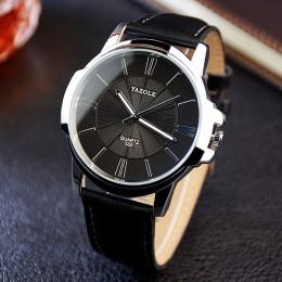 Biznesowy zegarek na rękę mężczyźni zegarki znane marki klasyczny zegarek na rękę nowy męski zegarek kwarcowy dla mężczyzn godzi