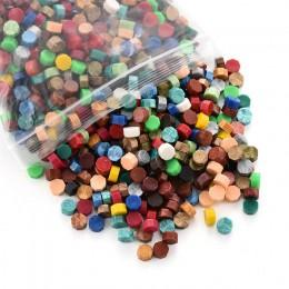 Octagon wosk uszczelniający znaczki kartka z życzeniami pieczęć zaproszenie na ślub koperta pieczęć mieszane kolor opakowanie 10