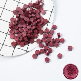 100 sztuk/partia Retro tłoczenie wosk uszczelniający kolorowe koraliki wosk pieczęć znaczki na koperty dokumenty ślub urodziny z