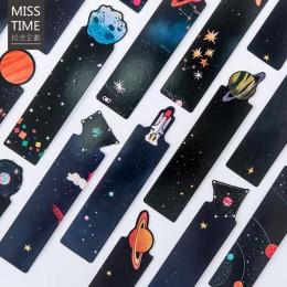 30 sztuk/zestaw Small Universe wiadomość Creative Shaped Planet zakładka szkolne materiały biurowe dzieci studenci piękne prezen