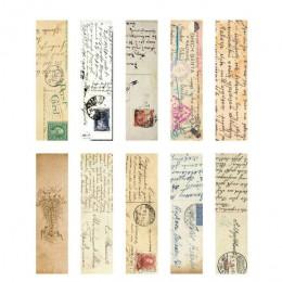 Mr Paper 30 sztuk/pudło Vintage Retro Style zegar gazeta mapa zakładki dla nowości czytanie książek Maker Page kreatywny papier