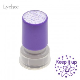 Lychee life 1pc Self Inking komentarz znaczek dla nauczycieli dzieci ozdobne pieczątki do notatnika DIY Scrapbooking