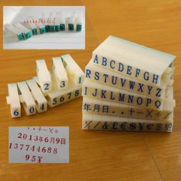 Od A do Z litery angielski znaczek cyfrowy Symbol Seal Scrapbooking alfabet połączenie druk atramentowy DIY rzemiosło artykuły b