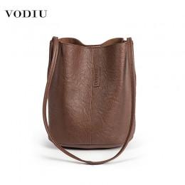 Torba kobiety skórzane wiadro luksusowe torebki projektant 2019 znanych marek o dużej pojemności zakupy podróży na ramię damska