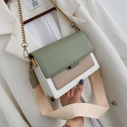Luksusowe torebki damskie torebki projektant 2020 nowe torebki ze skóry PU i torebki torba typu Crossbody z łańcuchem dla kobiet