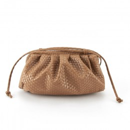 Torebka damska pleciona torba chmura torba miękka skórzana torba Madame pojedyncze ramię skośna torba na ramię torebka codzienne