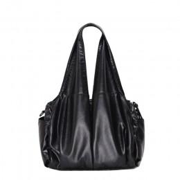 2020 PU hobo luksusowa tarcza rączka torebka damska damskie torebki na ramię miękka kurierska torba na ramię Pu skórzana torebka