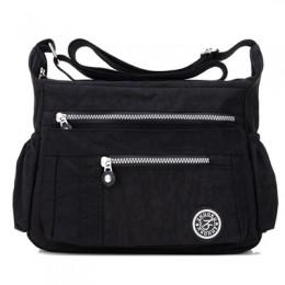 Luksusowe torebki damskie wodoodporne nylonowe torby na ramię top na co dzień torebka damska torba podróżna damska torba Crossbo