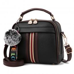 LANLOU torebki damskie torby na ramię torby damskie 2019 moda torebki damskie luksusowe torebki designerCasual crossbody torba d