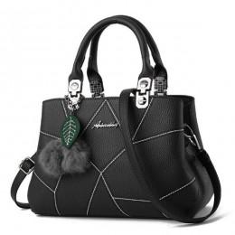 Yogodlns Trendy kobiety PU skórzane torebki damskie torby na ramię wysokiej jakości torebka kobieca do noszenia na ukos z włocha