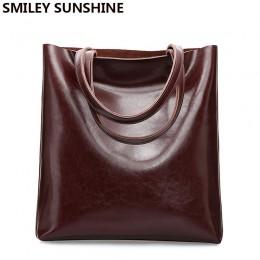 Torba z bydlęcej skóry torebki damskie z prawdziwej skóry duże torebki damskie duża torebka damska Vintage New 2020 torba damska