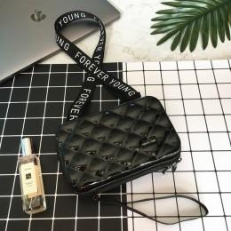 Kobiety torebka 2020 nowa designerskie torby dla kobiet geometryczny Plaid skrzynki panie mała na ramię torba kobiety znane mark