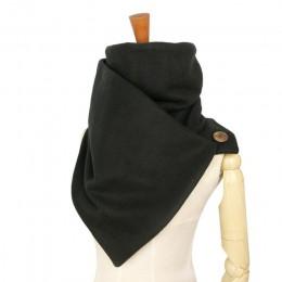 Leo anvi moda marka projektant szaliki kobiety mężczyźni szyi cieplej miękka maska stałe z pętli przyciski Unisex mujer bufand f