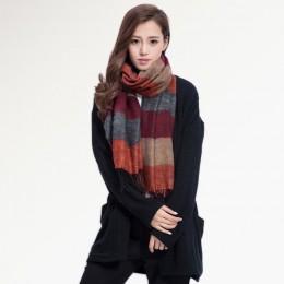 [VIANOSI] moda marka zima szalik kobiety projektant Pashmina szale i chusty miękkie fular Bufandas VS063