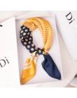 Nowe małe kwadratowe chustki szale jedwabne damskie uniwersalne wiosenne i jesienne profesjonalne akcesoria do noszenia szaliki
