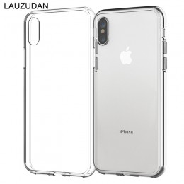 Wyczyść etui na telefon iPhone 7 etui na iPhone XR etui silikonowe etui na iPhone 11 Pro XS Max X 8 7 6 s Plus 5 s SE 2020 9 etu