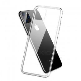 Ultra cienki przezroczysty silikonowy futerał na telefon dla iphone 11 Pro Max przypadku iphone XR XS Max X 7 8 6 6S Plus miękka
