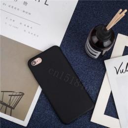 Luksusowa cienka miękka kolorowa obudowa na telefon dla iPhone 7 8 6 6s plus 5 5S SE Case silikonowa tylna pokrywa Capa dla iPho