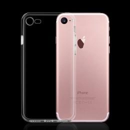 Ultra cienka szczupła przezroczyste miękkie etui z tpu na telefon dla iPhone 7 8 Plus Capa jasne etui na iphone'a Xs 11 Pro Max