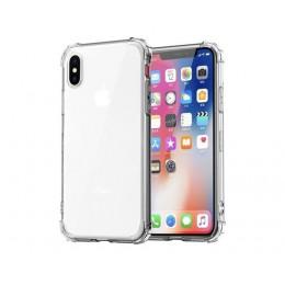Moda odporny na wstrząsy zderzak przezroczysty silikonowy futerał na telefon dla iPhone 11 X XS XR XS Max 8 7 6 6S Plus przezroc