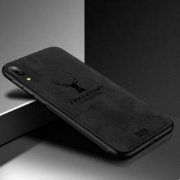 Luksusowe miękka TPU tkaniny etui na telefony do Samsung Galaxy A30 A50 A6 A7 A8 2018 M20 tylne okładki do Galaxy A90 A80 A70 A4