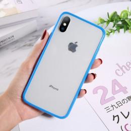 Lovebay przezroczysty, odporny na wstrząsy futerał na telefon dla iPhone SE 2020 11 Pro Max X XR Xs Max miękki TPU przezroczysty