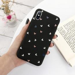 Lovebay silikonowe etui z motywem serca dla iPhone 11 Pro X XR XS Max 7 8 6 6s Plus 5 5s SE cukierki kolor powłoki miękkie etui