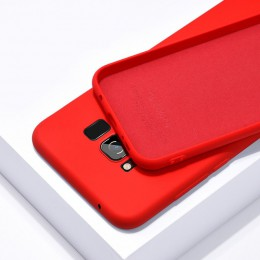Oryginalne silikonowe etui z płynem do Samsung Galaxy S8 S9 S10 S20 Plus Ultra S10E uwaga 8 9 10 Pro miękkie Slim zamykane pokro